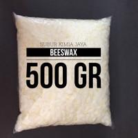 Beeswax / Butiran Beeswax 500 gr / bahan baku pomade