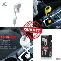 Remax Car Humidifier with 2 Port Charger 2.1A - RT-C01/Pelembab
