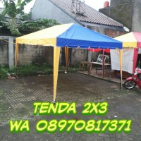 tenda cafe/tenda promosi/tenda jualan 2x3