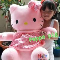 Boneka hello kitty pink jumbo