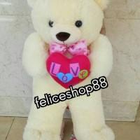 boneka teddy bear / beruang love besar jumbo