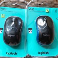 Mouse Logitech Wireless M185 Original Garansi Resmi 1 Tahun