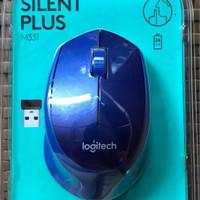 Mouse Wireless Logitech M331 Original Garansi Resmi 1 Tahun