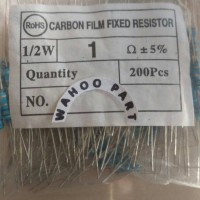 Resistor 1 ohm 1/2what 5% isi 100 pcc