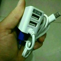 charger LED 3 in 1 - travel charger fast charging - merk samsung