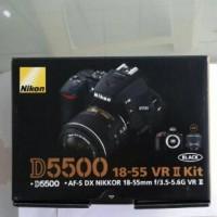 Nikon D5500 Kit AF-S 18-55mm VR II Kamera DSLR