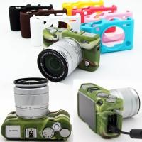 FujiFilm Fuji X-A3 XA3 XA10 X-A10 Silicone Rubber Camera Body Case