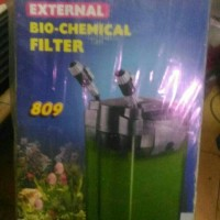 aquarium aquascape kolam external filter canister jebo 809