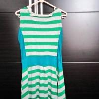 dress hijau preloved untuk dewasa