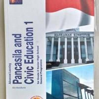 buku pelajaran pkn pancasila and civil education SMA kelas 10