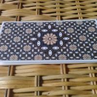 Money Holder Kartu Ucapan Khusus Handmade Batik76 Kawung Coklat