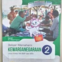 buku kewarganegaraan SMp kelas 8