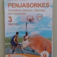 buku pendidikan jasmani olahraga dan kesehatan SMP kelas 9