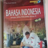 buku bahasa indonesia SMA kelas 10 halaman lepas