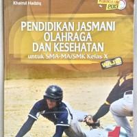 buku pelajaran pendidikan jasmani olahraga dan kesehatan SMA kelas 10