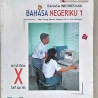 buku bahasa indonesia SMA kelas 10