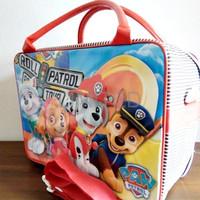 TERMURAH Tas Travel Bag Koper Anak Ukuran Besar Karakter Roll Patrol