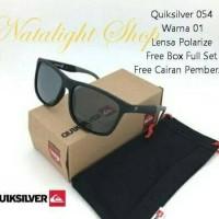 Sunglases Kaca Mata Pria Sport Quiksilver 54 Premium Polarize Mewah