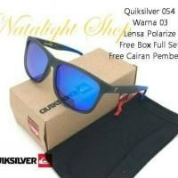 Kacamata Pria Sunglasses Quiksilver 54 Premium Polarize Mewah