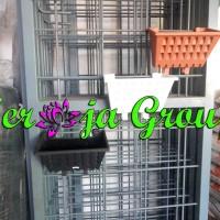Pot Tanaman Hias Taman Vertikal | Pot Pagar | Pot Vertical Garden