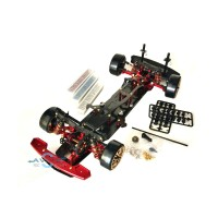 Team Power RC Car Drift DRR-01 Snac D1 - Red And Black