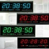 High quality  Jam Dinding Digital LED Besar tipe HT 4819 SM