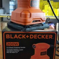 Sander/ mesin amplas Black and decker ss 400