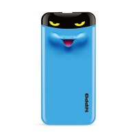 Hippo Power Bank Eyes 7000 mAh Cute Special Edition - Blue