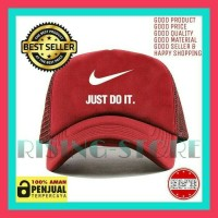 Topi jaring Nike just do it logo-tisha store