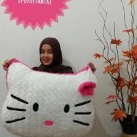 Bantal Kepala Hello Kitty Jumbo Kombi Putih