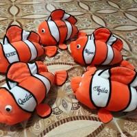Boneka Nemo Ukir Nama