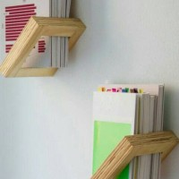 rak dinding..book case..rak unik...floating rack