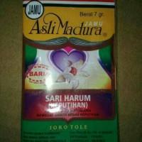 Jamu Sari Harum ( Keputihan) Asli Madura