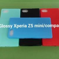Soft Case Cover Softcase Silikon Glossy Sony Xperia Z5 Mini / Compact