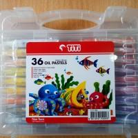 GROSIR!!! Titi Krayon Minyak 36 Warna / Crayon 36 Colors Oil Pastels
