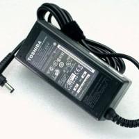 Adaptor Laptop Toshiba 19V - 3,42A Original Bonus Kabel Power