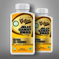 Walatra G-Sea Jelly Gamat Emas Rasa Jeruk 100% Asli / Original & Murah