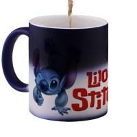 Magic Mug Bunglon (Berubah Warna) Lilo & Stitch Kualitas Premium 325ml