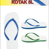Sandal Skyway Kotak 5 L - Biru, 10