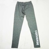 Celana Training Converse CWP Legging VGH Women Grey Original