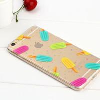 soft case casing silicon iphone 5 5s SE 6 6s 6plus 7 7plus + cute lucu