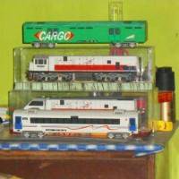 Top Miniatur Kereta Api Indonesia