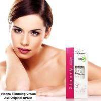 Pelangsing Badan Alami Herbal Vienna Slimming Cream BPOM Asli Original