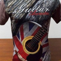 Kaos 3D Fullprint Thailand Guitar (F17090)