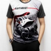 Kaos 3d fullprint Thailand Guitar (F17115)