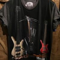 Kaos 3D Fullprint Thailand Guitar (F17107)