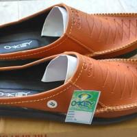 Sepatu Sandal Okey Selop Santai Flat Casual Pria Slip On