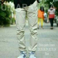 Celana Panjang Chino Cream