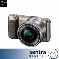 Sony Alpha 5100 kit 16-50mm a5100 Mirrorless Camera Brown