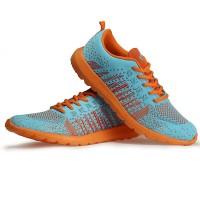 PROMO!!Sepatu Running KETA 181 Blue orange DISCON 17,8%